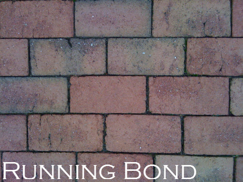 Running Bond Is One Of The Most Common Patterns Used It Easy To Lay And Works Great In Areas That Are Tricky Shapes