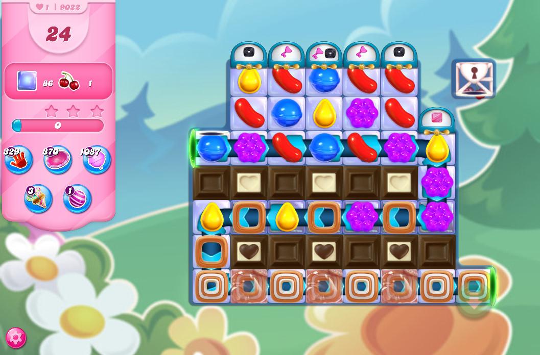 Candy Crush Saga level 9022