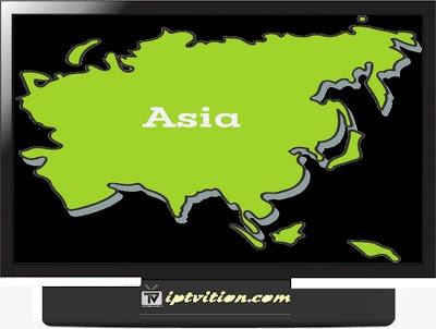IPTV Asia m3u channels GRATUIT