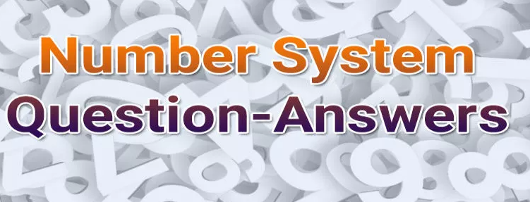 Number System formulas and Tricks for Competitive Exams