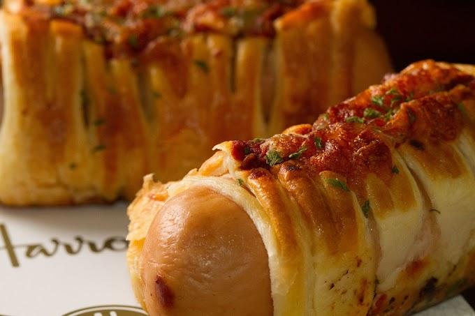 Hojaldre de salchicha al horno (hot dog de hojaldre)