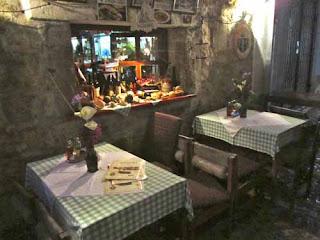 Restaurant Old Town Budva Montenegro