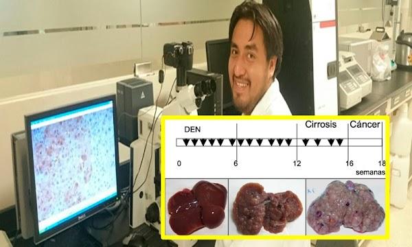 Solicitan patente mexicana para detectar cáncer de hígado