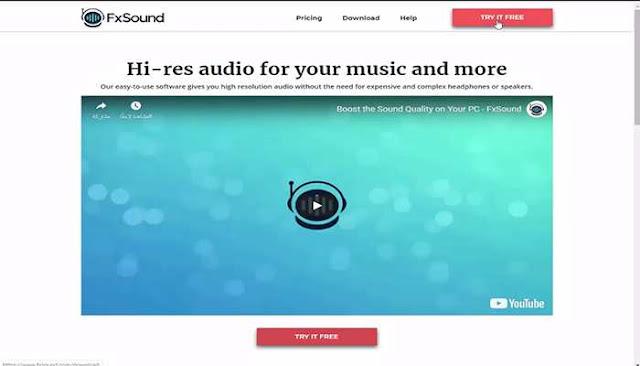 تحميل برنامج FxSound Enhancer