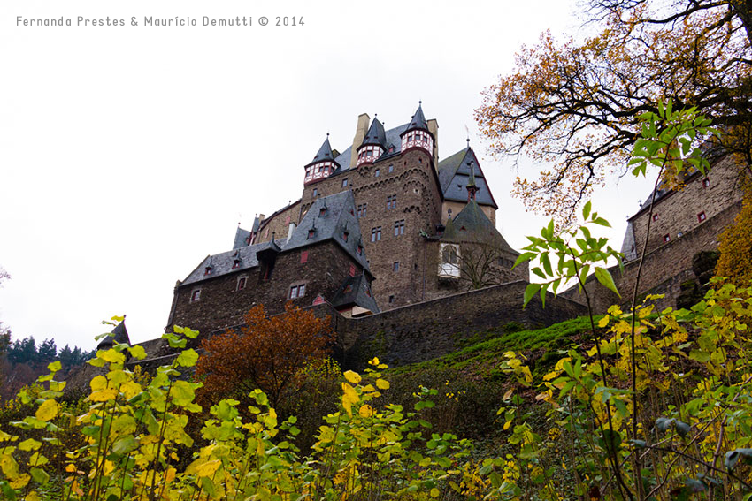 lateral do Castelo de Burg-Eltz
