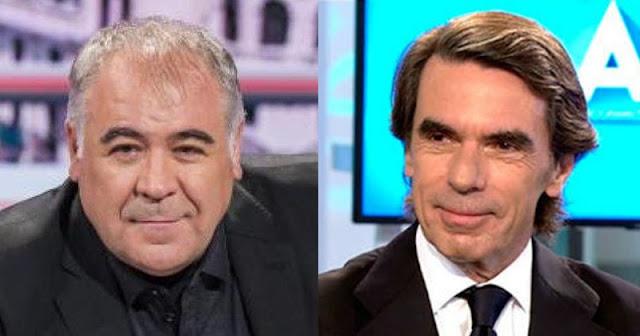 Antonio García Ferreras y José María Aznar