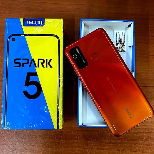 Tecno Spark 5 - Unboxing