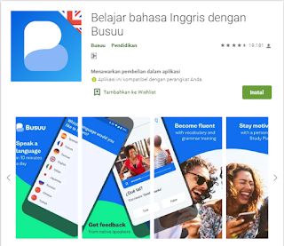 Aplikasi Belajar Bahasa Inggris Terbaik di Android
