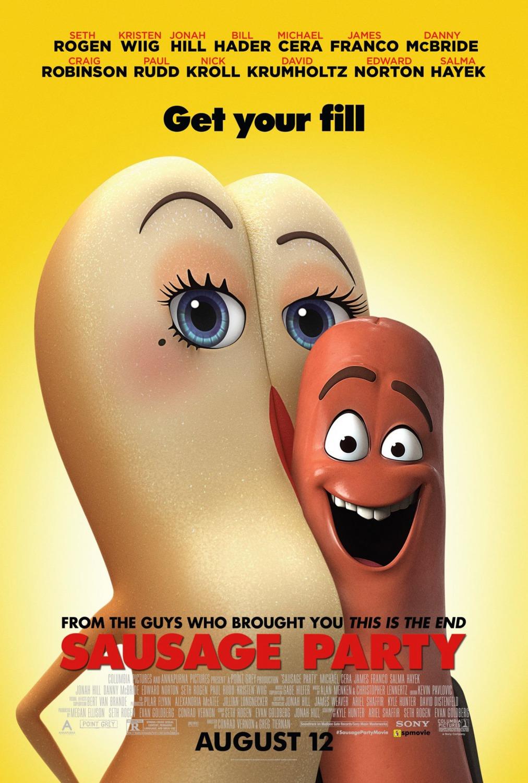 Nuevo póster internacional de 'La fiesta de las salchichas'