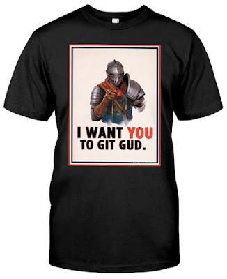 I Want You To Git Gud T Shirt Hoodie Sweatshirt Tank Tops