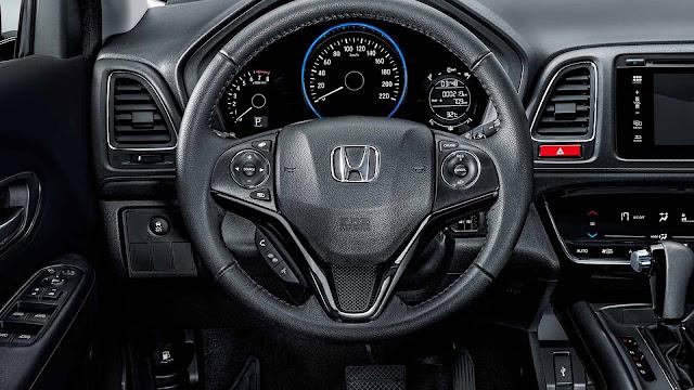 Honda HR-V EXL 2019 - interior - painel