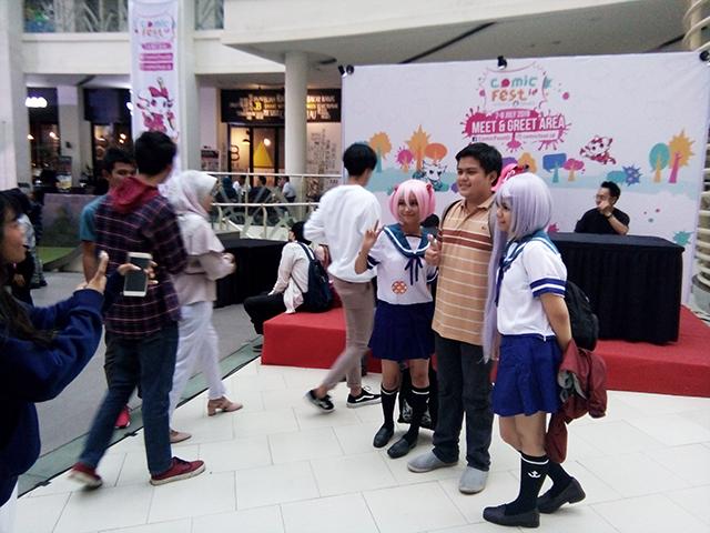 Keseruan Cosplay di ComicFest id 2018 Epiwalk