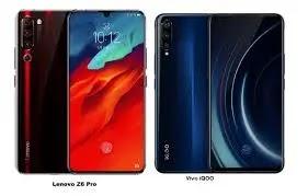 Lenovo Z6 Pro (12GB RAM + 512GB) vs Vivo iQOO (12GB RAM + 256GB) Comparison In Hindi ! Vapi Mediia News