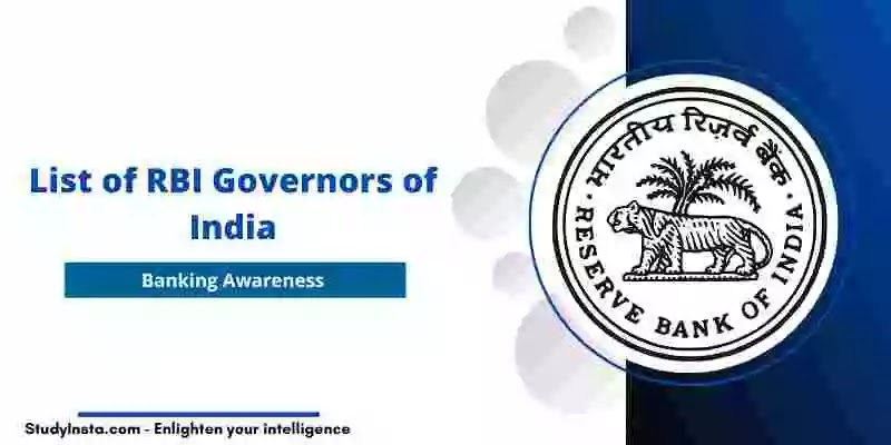 List of RBI Governors of India from 1935 to 2021