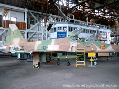 Naval Air Station Widlwood Aviation Museum at Cape May Airport in New Jersey
