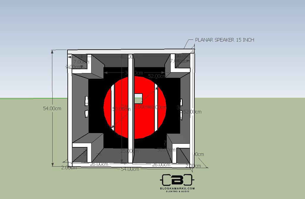Jenis Speaker Planar