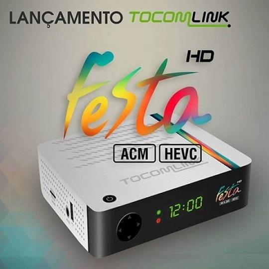 TOCOMLINK FESTA HD NOVA ATUALIZAÇÃO V1.82 - 06/08/2020