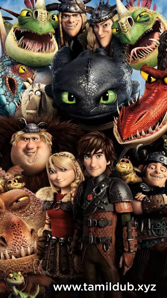 How to train your dragon Tamil Dubbed Hollywood Movie Download