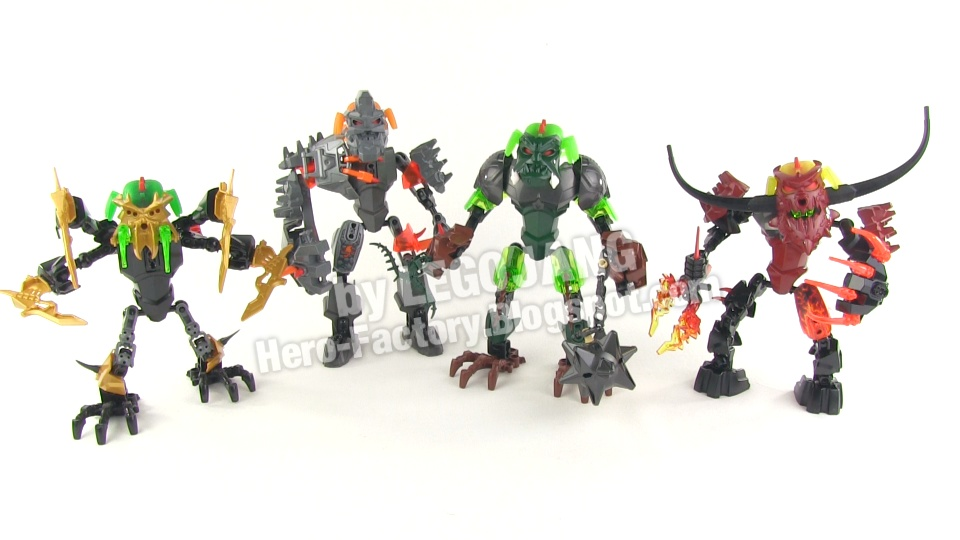 ALL Hero Factory Brain Attack Set Reviews complete!