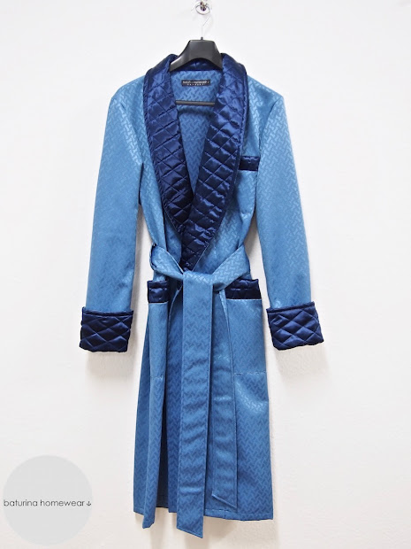 Men' Dressing Gown Collection - Luxury Silk And Velvet Robes