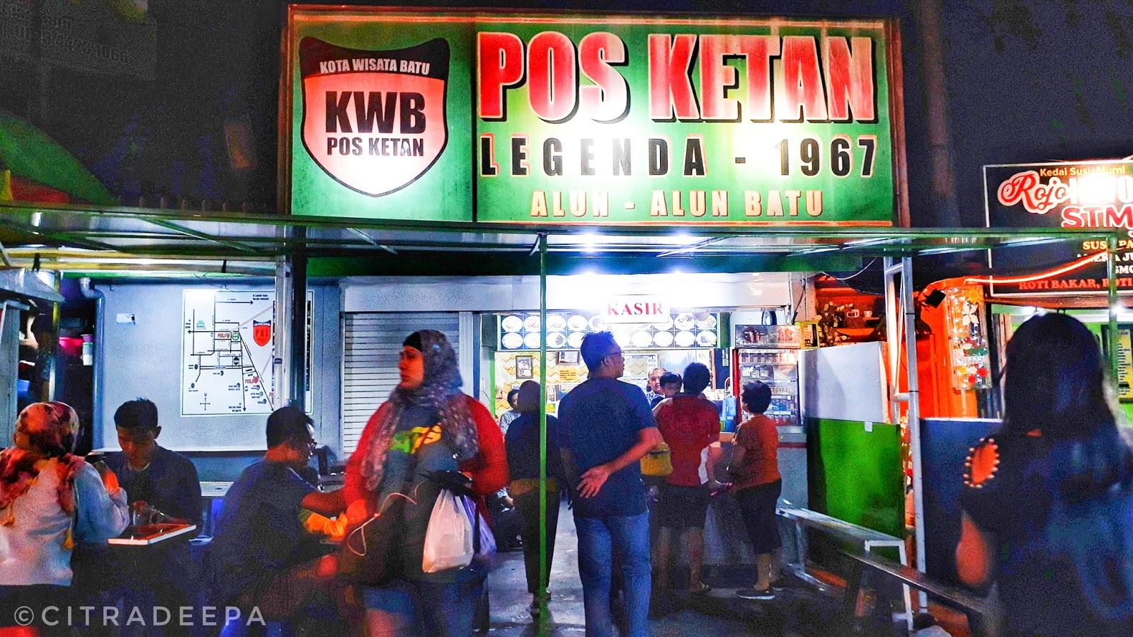 Pos Ketan Legenda 1967 Kuliner Wajib Di Batu Malang