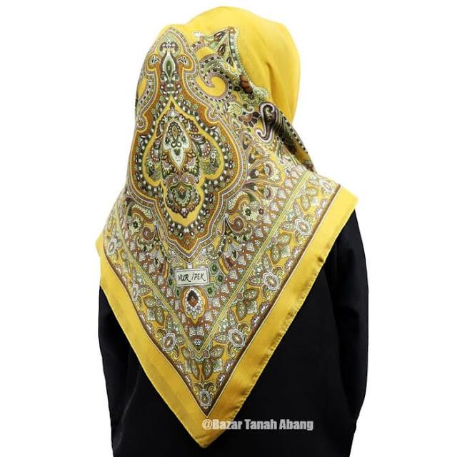 Jilbab Segi Empat Turki Murah Katun Premium dari Istambul Turki 2