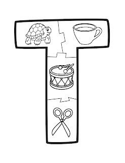 abecedario con dibujos para niños