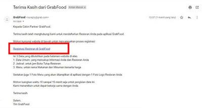 Cara Daftar Grabfood Terbaru,