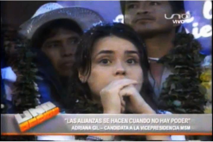 Adriana Gil revelaciones que Evo Morales en UNO DECIDE