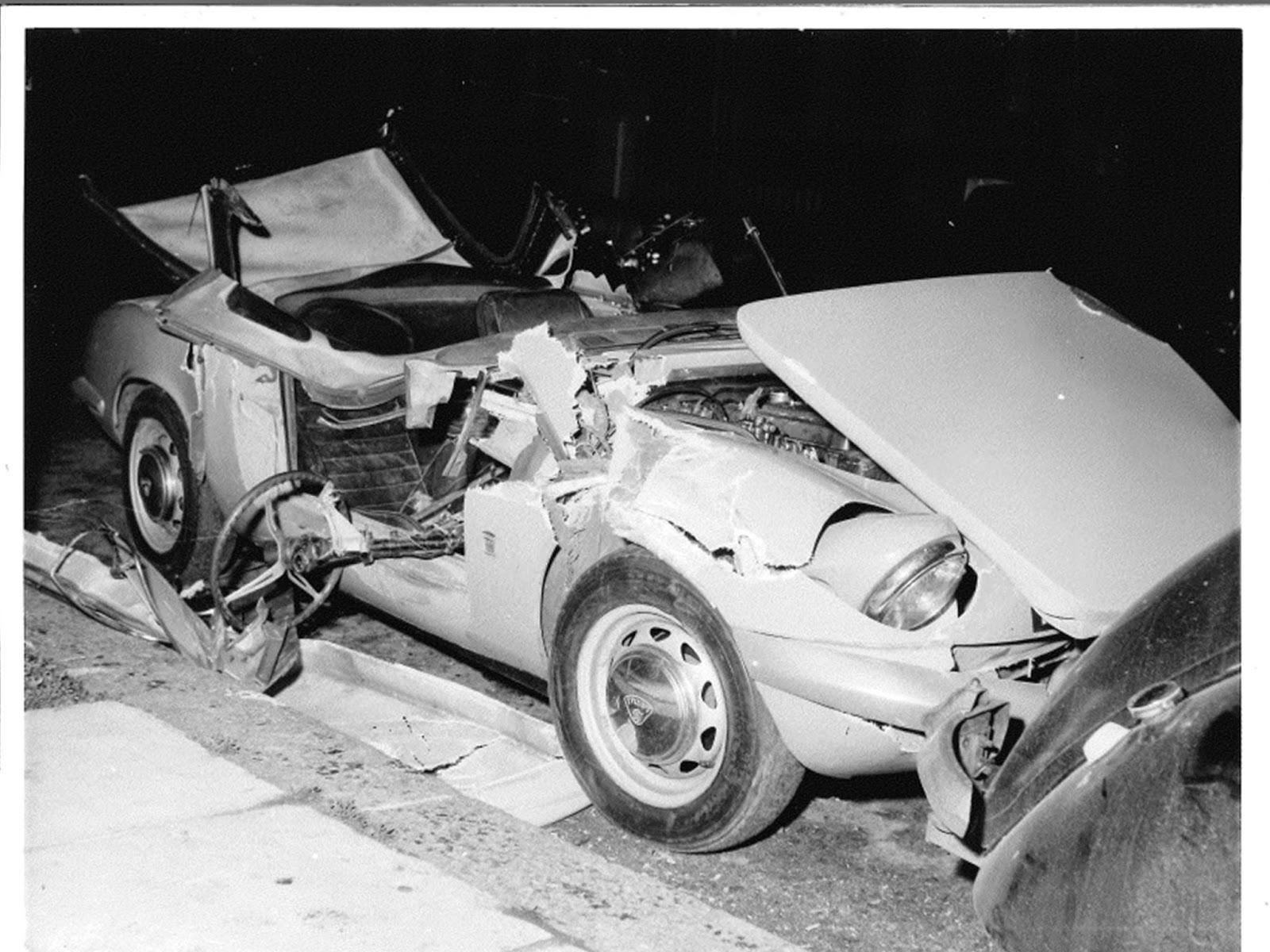 Suki Potier Car Crash