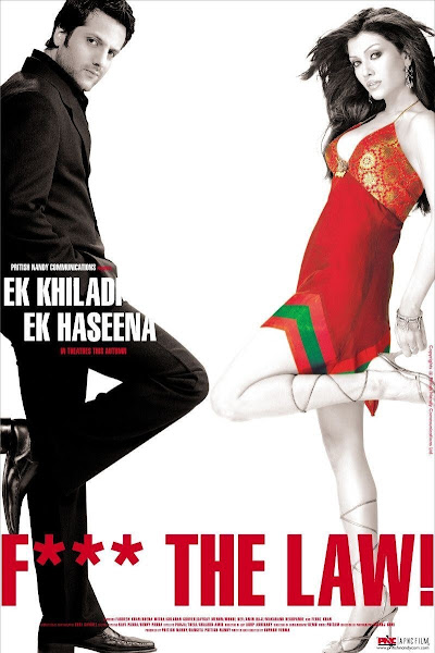 Poster of Ek Khiladi Ek Haseena 2005 Full Movie Hindi 720p DVDRip ESubs Download