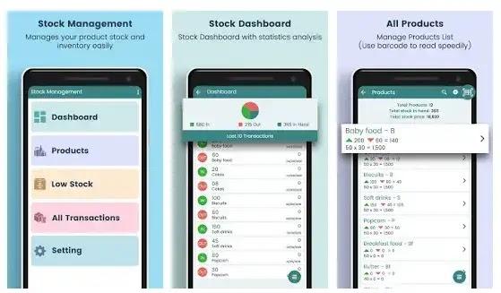 aplikasi stok barang stock and inventory management system