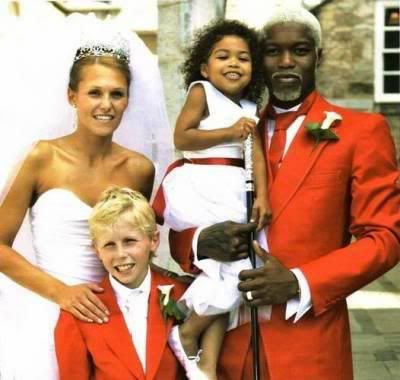 Jude Littler with her ex-husband & her kids