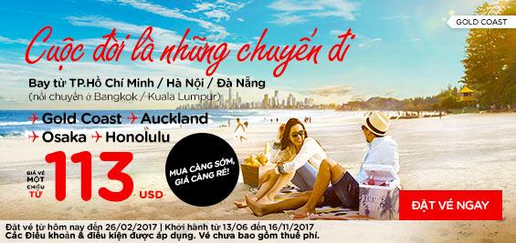 bán vé Air Asia bay ngay với giá rẻ