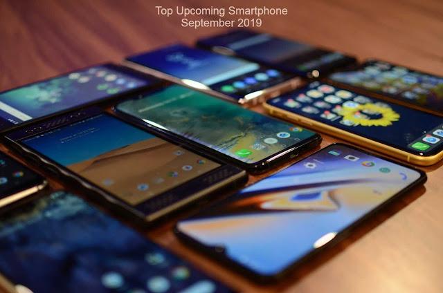 Top Upcoming Smartphones - September 2019
