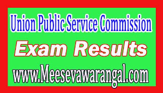 Union Public Service Commission National Defence Academy / Naval Academy 2016 Exam Results