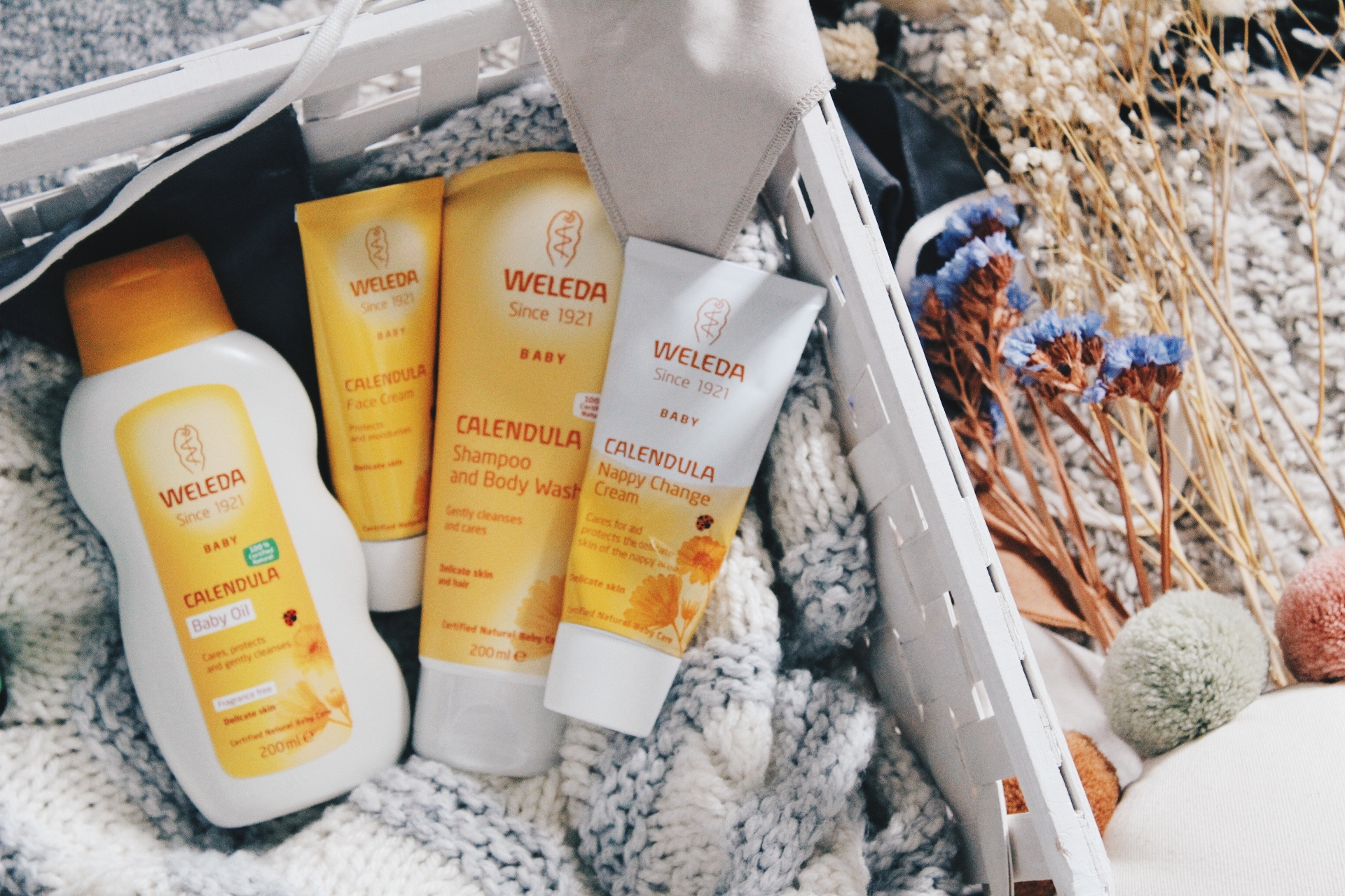 Award-winning skincare for your baby from Weleda