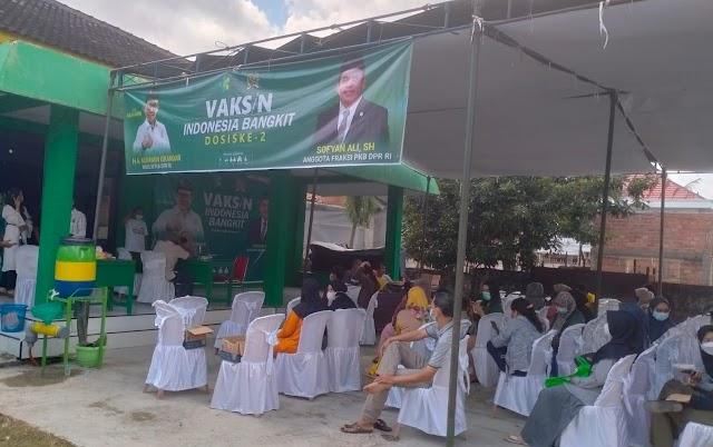 Vaksinasi Indonesia Bangkit Oleh PKB Jambi Kembali Digulirkan