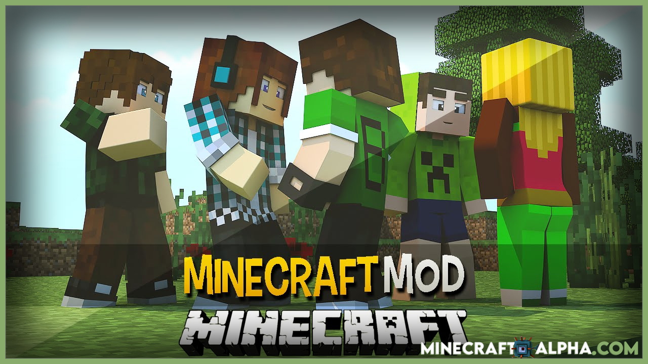 Minecraft Humans Mod 1.17.1(You are not Alone)
