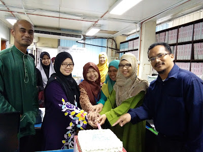 DOUBLE CELEBRATION - BIRTHDAY & FAREWELL UNIT AKAUN