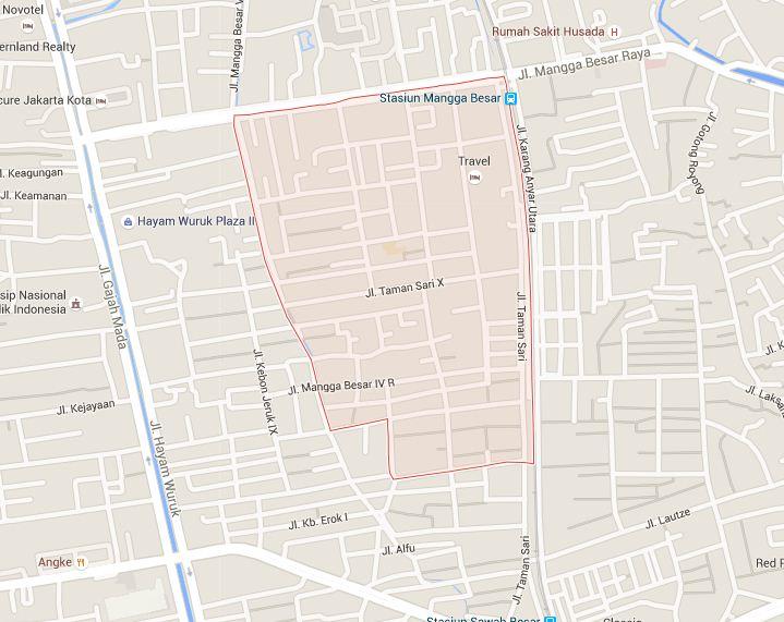 Kode Pos Kecamatan Taman Sari Jakarta Barat - Kodepos ...