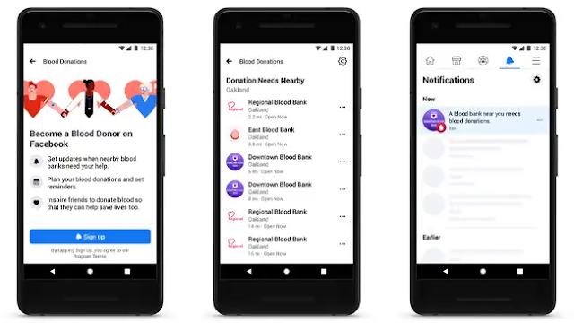 Facebook to unveil domestic 'blood donation function' in cooperation with the Red Cross