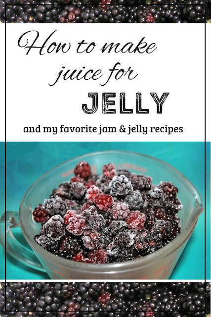 How to turn fresh fruit and berries into juice for jelly.