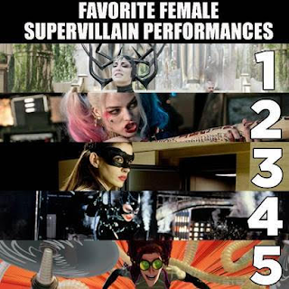 Favorite Female Supervillain Performances: