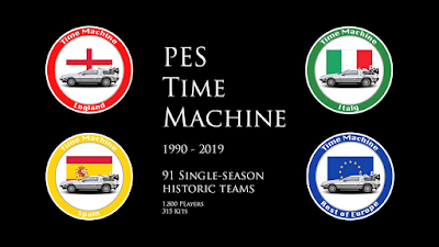 PES 2018 PS4 Option File PES Time Machine by WadeC