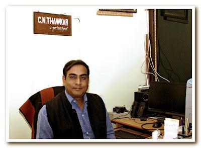 Shri. Chkradhar Thavkar, Principle.