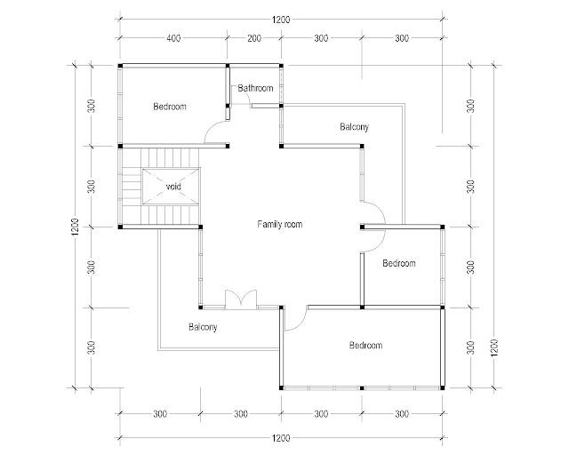 2nd Floor Plan for Plan c-07