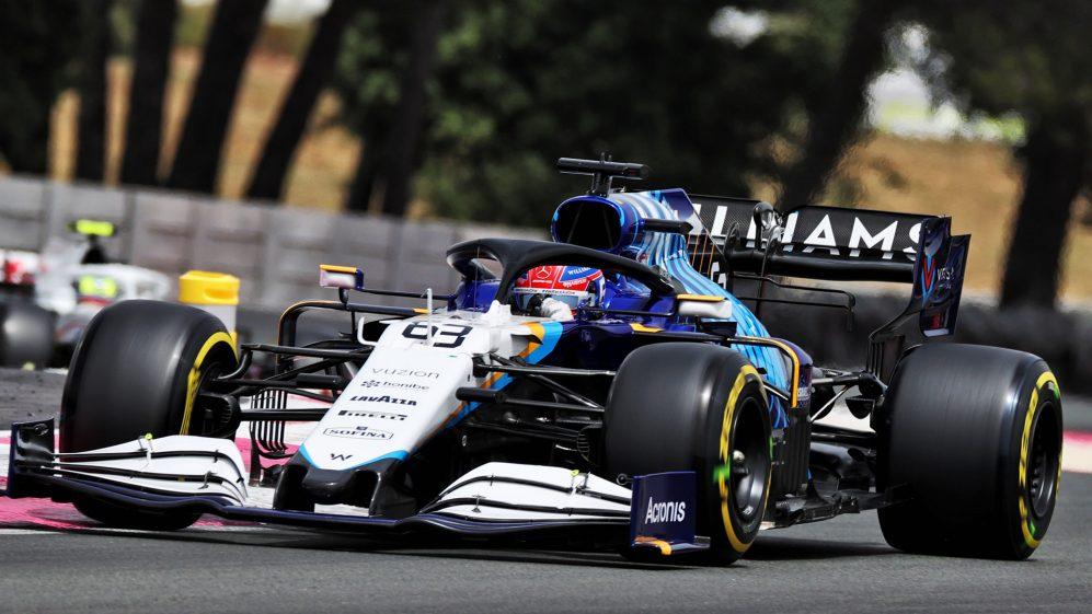 Russell terminou em 12º na França, então ainda está em busca de seu primeiro ponto com a Williams