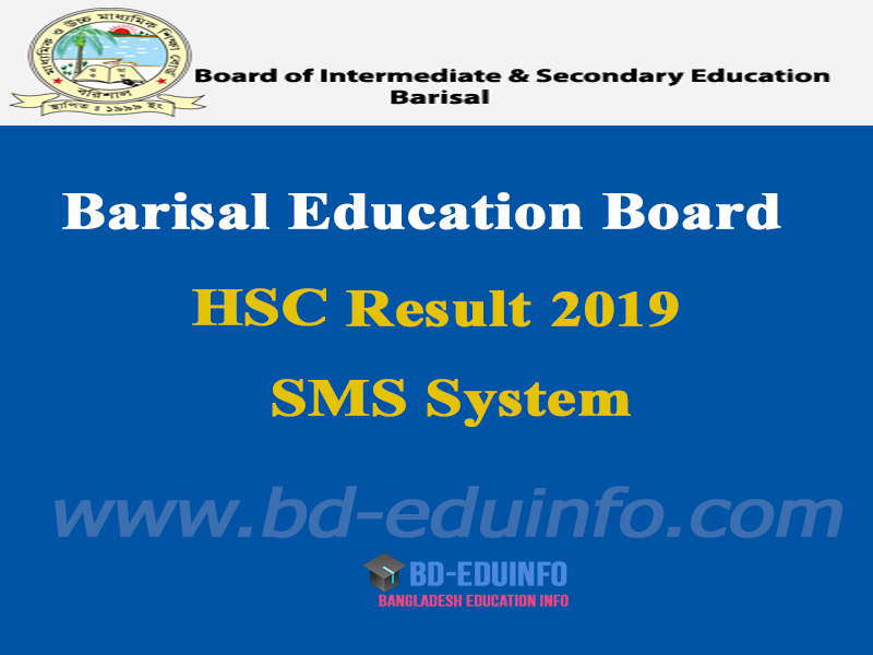 Barisal Board HSC Results 2019