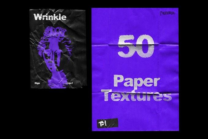 Wrinkle Paper Mockup Vintage[Photoshop][5399468]